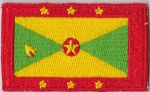 Grenada Embroidered Flag Patch, style 04
